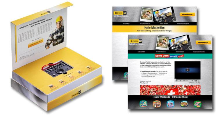 Direct Marketing Kampagne für exklusiven Event für Bestandskunden