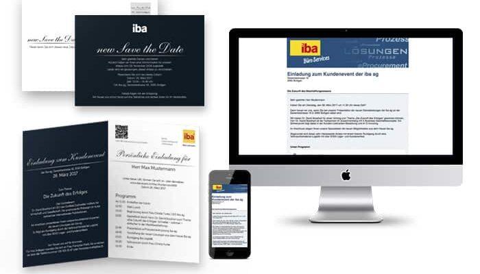 Mit der massgeschneiderten Einladungskampagne in Print und Online wurden Kunden über verschiedene Kanäle angesprochen ─ Print, Mobile, Web, E-Mail ─ und dies immer personalisiert