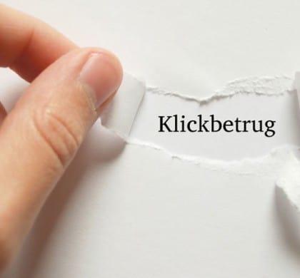 Wie Sie Klickbetrug erkennen und sich davor schützen können