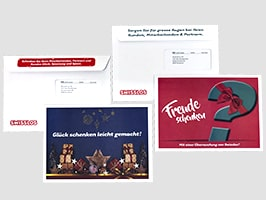 Kuvertiertes Mailing mit Flap für Swisslos