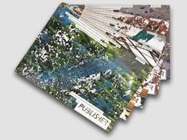 Magazindruck mit individuellen Inhalten